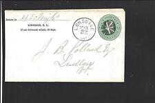 LONSDALE, RHODE ISLAND COVER,3CT ENTIRE, PROVIDENCE CO. DPO:1838/09.