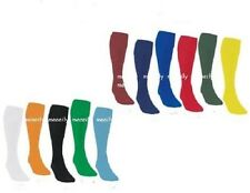 Llanura de Fútbol Rugby Hockey Fútbol calcetines PE Todos Los Tamaños Para Hombre, jóvenes, niños