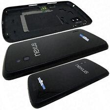 For LG E960 Nexus 4 Rear Glass Battery Cover Housing Case Camera Lens OEM