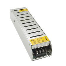 Alimentatore mini slim 80W per luci LED 12V 6.6A trasformatore ac/dc 220V IP20