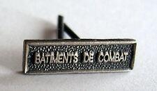 Agrafe barrette militaire MINIATURE, BATIMENTS DE COMBAT, 14 x 4 mm pour rappels
