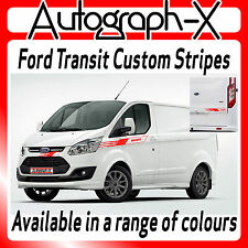 Ford Transit Custom SWB M-Sport Van Autocaravana rayas calcomanías gráficos FTCS 06