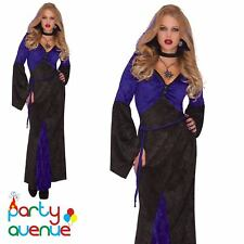 Womens Vampire Mistress Of Seduction Halloween Fancy Dress Costume Size 14-16
