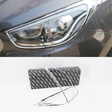 Chrome Head Lamp Garnish 2P 1Set For Hyundai Tucson 2011 2013