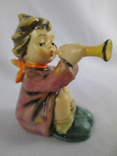 Vintage Hummel 391 TMK4 Girl with Trumpet Goebel West Germany Figurine