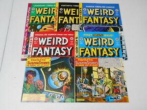EC classics: Weird Fantasy Reprints #1-22, (EC), 7.5 VF- to 9.0 VF/NM