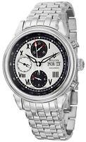Bulova Mens 63C008 Accutron Gemini Swiss Automatic 7750 Valjoux Bracelet Watch