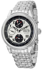 Bulova Mens 63C008 Accutron Gemini Swiss Automatic 7750 Valjoux Bracelet Watch