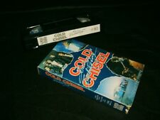 VHS *COLD CHISEL - SEEING IS BELIEVING (1978 - 1983)* RARE WEA Video Collection!
