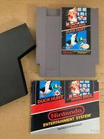 Super Mario Bros 100% AUTHENTIC ORIGINAL NES NINTENDO GAME Tested Working