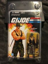 GI JOE 2010 COMIC CON EXCLUSIVE SGT. SLAUGHTER W/BLACK SHIRT VARIATION SDCC