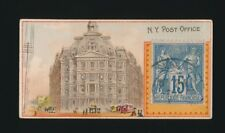 """1889 N85 Duke's Cigarettes POSTAGE STAMPS (""""Foreign"""") -N.Y. Post Office"""