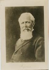 Portrait du Professeur Otto Wallach. Vintage silver print Tirage argentique