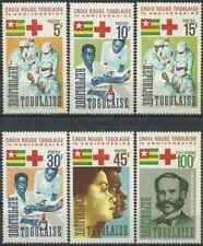 Timbres Santé Médecine Croix Rouge Togo 485/9 PA53 * (31247)
