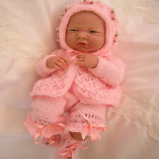 "Creative Dolls Designs Knitting Pattern Matinee Set For 14-15"" Berenguer Dolls"