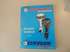 ER 1994 Werkstatthandbuch Johnson Evinrude Außenborder 2 2.3 3 3.3 4 5 6 8 PS