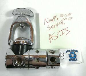 Scubapro MK5 Yoke 1st First Stage Scuba Dive Regulator w dust cap Scubapro MKV