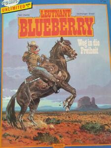 Leutnant Blueberry Band 5, Weg in die Freiheit, Comics unlimited