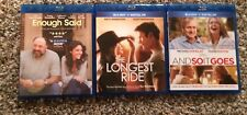 And So it Goes, Enough Said, The Longest Ride Blu Ray No Digital