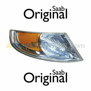 SAAB 9-5 02-05 TURN SIGNAL CORNER LIGHT RH PASSENGER NEW GENUINE OEM 12761339