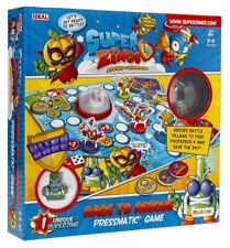 Ideal SUPERZINGS RACE TO RESCUE Pressmatic Board GAME