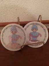 Precious Moments Small Collectible Plates You Have Touched So Many Hearts