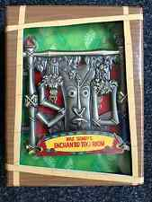 Walt Disney's Enchanted Tiki Room 50th Anniversary Hinged Large Pin LE 250 DLR