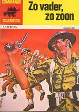 COMMANDO CLASSICS 49 - ZO VADER , ZO ZOON (1977)
