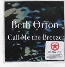 (DQ639) Beth Orton, Call Me The Breeze - 2012 DJ CD