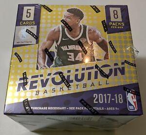 2017-18 Panini Revolution Basketball Hobby Box - Tatum Mitchell Adebayo Fox Ball