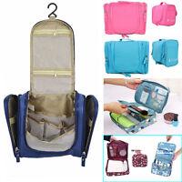 Travel Cosmetic Makeup Toiletry Case Bag Wash Organizer Storage Pouch HandBag UK
