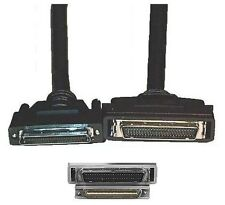 6ft long 68pin .8mm VHD/VHDCI~SCSI-2 HPDB50/HD50/MD50 Male~M Cable/Cord/Wire