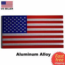 "3D METAL American Flag Sticker Emblem Decal For Auto, Car, Truck 3.25""x1.7"""