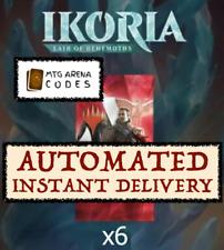 MAGIC MTG Arena code card 6 Boosters Ikoria Lair of Behemoths Prerelease INSTANT