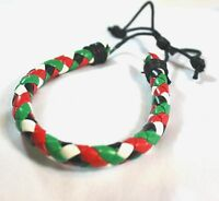 New Palestinian Flag Braided Bracelet Palestine Four Colors Flag Wristband # C