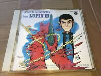 Lupin the Third 3rd Japan Anime CD ~ ORIGINAL SOUNDTRACK FROM LUPIN III