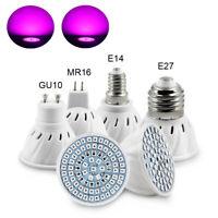 E27/E14/GU10 Led Grow Light Bulb Lamp for Plants ydroponics Veg Bloom 220V-240V
