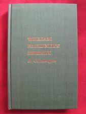 WILLIAM FAULKNER'S LIBRARY - A CATALOGUE