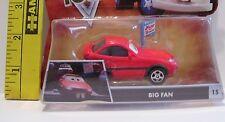 MATTEL NEW DAMAGED PACKAGE DISNEY PIXAR CARS DIECAST BIG FAN #15 TOON CAR TOY