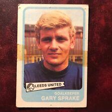 1968/69 A&BC Footballer Set GARY SPRAKE #72 LEEDS UNITED