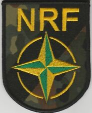NRF. NATO. NATO RESPONSE FORCES subdued patch. FREE SHIPPING