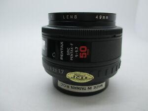 [Excellent+] PENTAX SMC PENTAX-F 50mm f/1.7 AF Fix Lens For Pentax KAF DSLR SLR