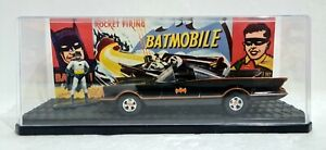 Batman 1966 TV Movie BATMOBILE 🦇 Jada 1:32 Scale Model in Plastic Display Case