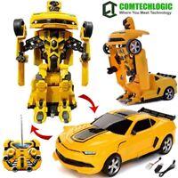 Chevrolet Camaro Transformers RC Radio Remote Control Drifting Robot Car EP RTR