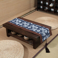 Oriental Antique Furniture Japanese Floor Tea Table Wooden Low Tatami Table