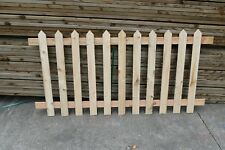 picket fence /  3 panels approx 18 foot