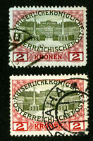 Austria Stamps Regular + Color Variety Rare Set of 2