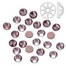Cristales de Swarovski (2078) SS20 Antique ROSA Hotfix Pack de 24 (K65/11)