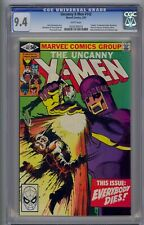 X-MEN #142 CGC 9.4 WHITE PAGES