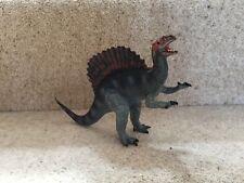 1992 Carnegie Safari SPINOSAURUS DINOSAUR Solid plastic toy Jurassic animal 💥